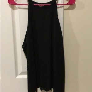 Open back, black shirt. Size XL. Worn once